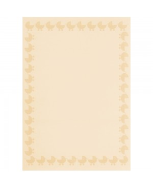 Popierius kalkinis/permatomas, A4, 102 g/m², Baby pink, 1vnt.