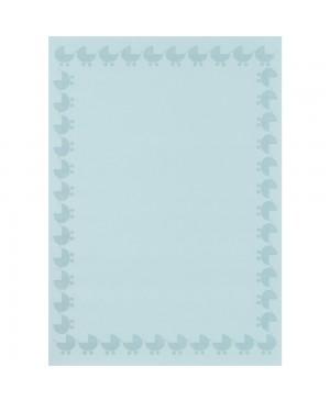 Popierius kalkinis/permatomas, A4, 102 g/m², Baby blue, 1vnt.