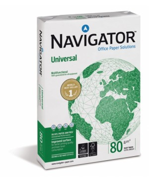 Biuro popierius Navigator, A4, 80 g/m², 500 lapų