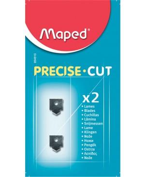 Ašmenys pjaustyklei Maped Precise Cut, pakuotėje 2vnt