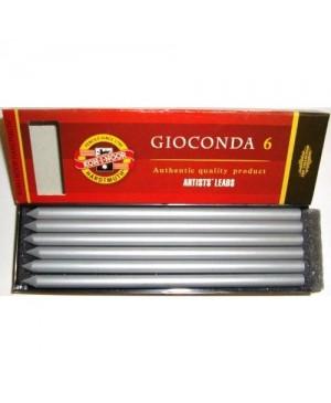 Sepijos lazdelė metalizuota sidabras, 4381 GIOCONDA 1 vnt