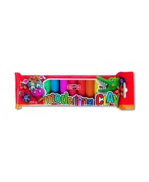 Plastilinas Koh-I-Noor Modelling Clay 10 spalvų