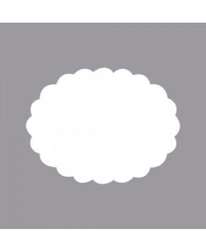 Skylamušis Ovalas banguotais kraštais 6.35cm