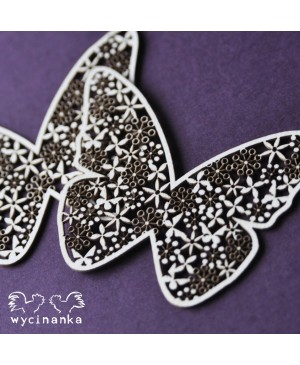 Kartono formelė Butterflies III, 2vnt.