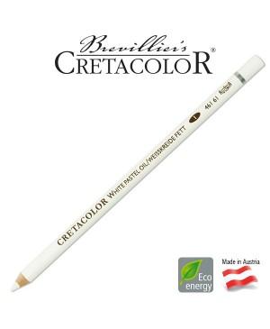 Aliejinis baltos kreidos pieštukas Cretacolor, 1vnt.