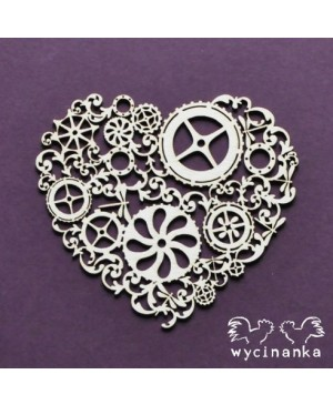 Kartono formelė Steampunk Heart
