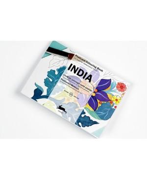 Atvirukai meniniam spalvinimui India, 20vnt