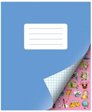 Sąsiuvinis ŠOK 2 klasei langeliais, 12 lapų, 80g/m2.
