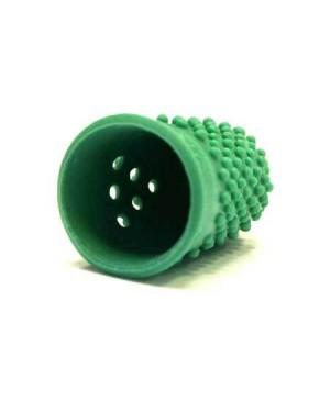 Guminis antpirštis Alco Nr.1, 15 mm diametro, žalias