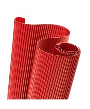 Gofruotas kartonas  50x70cm (39), raudonos sp.