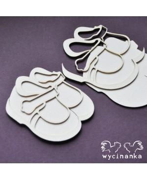 Kartono formelė Baby Shoes 1, 4vnt.