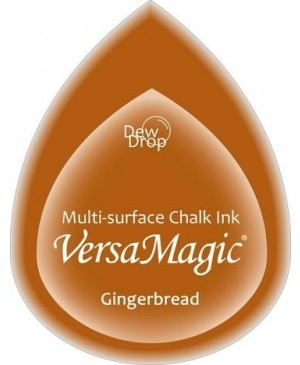 Rašalo pagalvėlė VersaMagic Dew Drop Gingerbread ruda