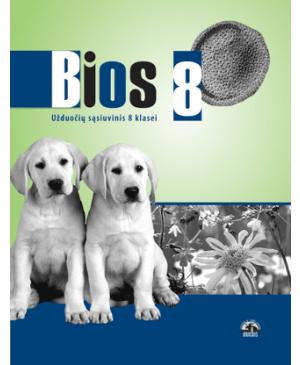 Bios 8. Biologijos užduočių sąsiuvinis VIII klasei