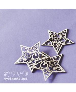 Kartono formelė Lacy Christmas - Stars, 3vnt.