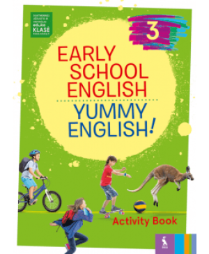 EARLY SCHOOL ENGLISH 3: YUMMY ENGLISH! ACTIVITY BOOK
