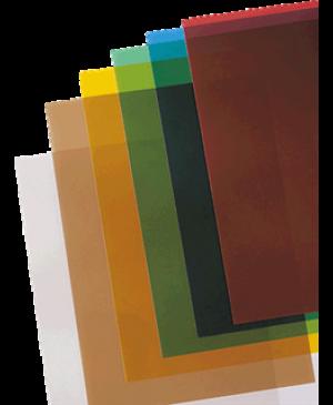 Įrišimo viršelis Prestige, A4, skaidrus rudas, 200 mic, 1 vnt.