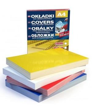 Kartonas Delta Chromo įrišimui A4, 250 g/m², geltonos sp.
