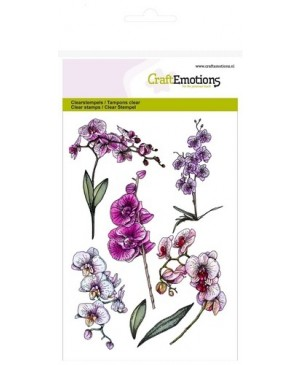 Silikono antspaudas Orchid Branches, 1243, A6