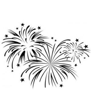 """Reljefavimo formelė """"Fireworks"""", 10.8x14.6cm"""