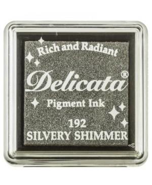 Rašalo pagalvėlė Delicata Silvery Shimmer mini (192)
