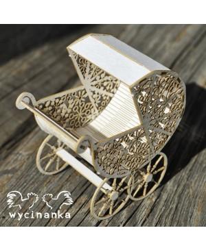 Kartono formelė Little Ones - vežimėlis 3D