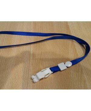 Dirželis su plastikiniu fiksatoriumi, mėlynas