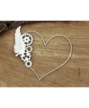 Kartono formelė Steampunk Flying Hearts - One Wings frame