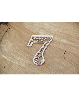 Kartono formelė - Monograce skaičius 7, 1 vnt.