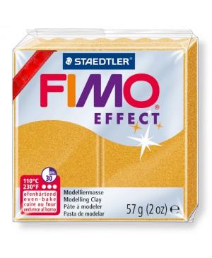 Modelinas Fimo Effect, 56g, 11 aukso metalizuotas/perlamutrinis