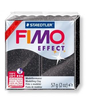Modelinas Fimo Effect, 56g, 903 juodas blizgus akmuo