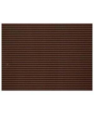 Gofruotas kartonas  50x70cm (35), šokolado rudos sp.