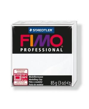 Modelinas Fimo Professional 85g, 0 balta