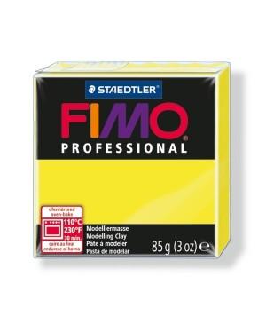 Modelinas Fimo Professional 85g, 1 citrininė geltona