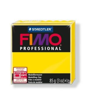 Modelinas Fimo Professional 85g, 100 geltona ryški
