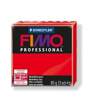 Modelinas Fimo Professional 85g, 200 raudona ryški