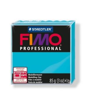 Modelinas Fimo Professional 85g, 32 turkio žydra