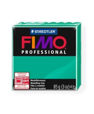 Modelinas Fimo Professional 85g, 500 žalia ryški