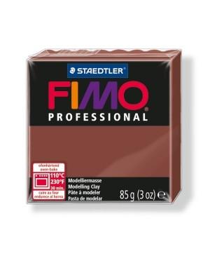 Modelinas Fimo Professional 85g, 77 šokolado