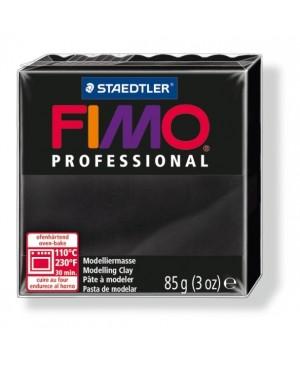 Modelinas Fimo Professional 85g, 9 juoda