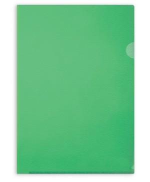 Aplankas dokumentams Forpus, A4, matinis žalias, 115 mkr, L formos
