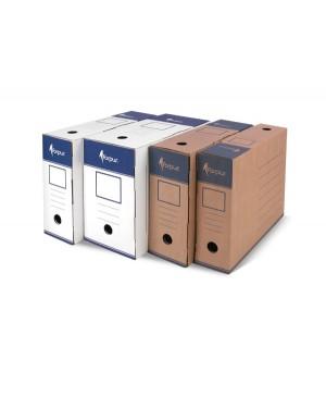 Archyvinė dėžė Forpus, A4, 100 mm, balta