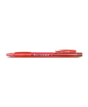 Automatinis tušinukas Forpus Clicker, 0.7mm, raudonas