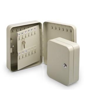 Raktų dėžė Forpus, 20 kabl., pilka, 200x160x75 mm