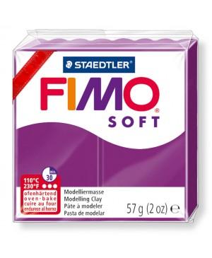 Modelinas Fimo Soft, 56g, 61 purpurinis