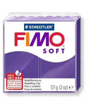 Modelinas Fimo Soft, 56g, 63 violetinis