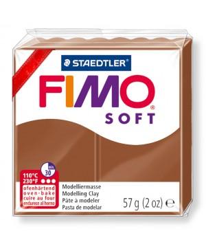 Modelinas Fimo Soft, 56g, 7 karamelės
