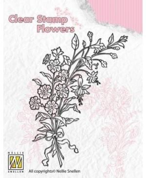 """Silkono antspaudas FLO007 """"Laukinių gėlių puokštė 2"""""""