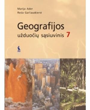 Geografijos užduočių sąsiuvinis VII klasei
