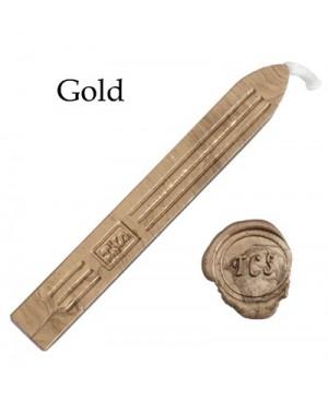 Vaškas antspaudams Manuscript, aukso sp., 1vnt.