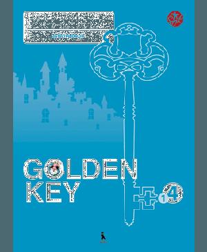 """Golden Key 4. Activity Book. 1-asis anglų kalbos pratybų sąsiuvinis IV klasei. Tretieji mokymo metai ( """"Šok"""")"""